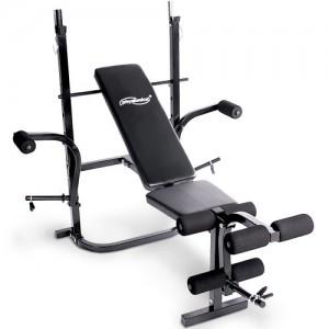 Banc-de-musculation-pliable-avec-4-positions-de-rglage-du-dossier-en-acier-rembourr-avec-support-pour-haltre-0