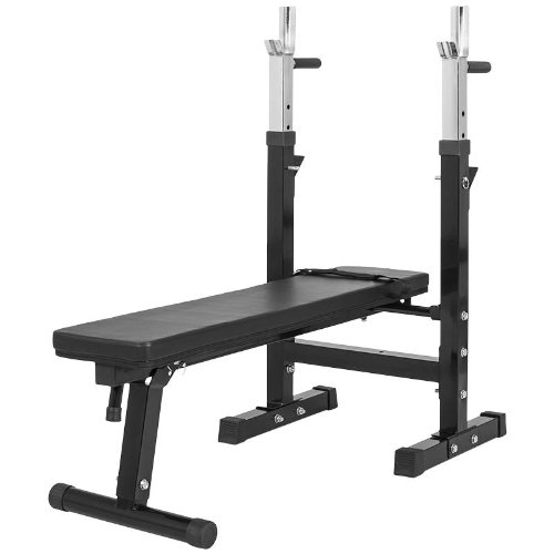 Achat Gorilla Sports Gs006 Banc De Musculation Avec Support De Bar