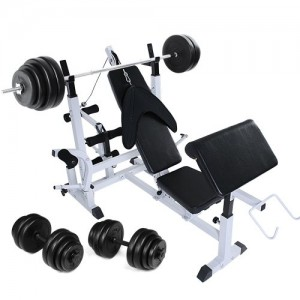 Banc-de-musculation-avec-support-pour-haltres-haltre-court-30-kg-haltre-long-60-kg-0