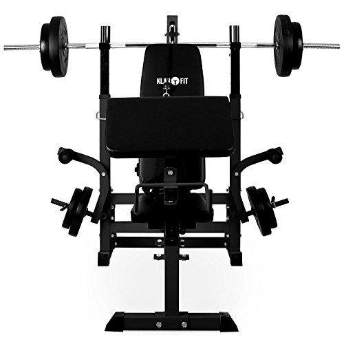achat klarfit ks02 station de musculation avec banc. Black Bedroom Furniture Sets. Home Design Ideas
