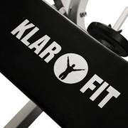 Klarfit-Banc-de-Musculation-Complet-Appareil-Muscu-Abdominaux-Pectoraux-Fessier-Dos-Bras-Jambes-avec-Curler-Blanc-0-0