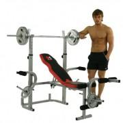 Hammer-Banc-de-musculation-ArgentNoir-230-x-135-x-134-cm-0-0
