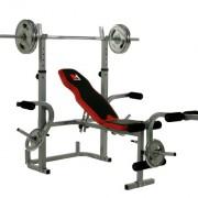 Hammer-Banc-de-musculation-ArgentNoir-230-x-135-x-134-cm-0