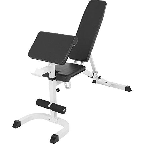 Achat banc de musculation r glable inclin d clin avec - Programme musculation avec banc domyos ...