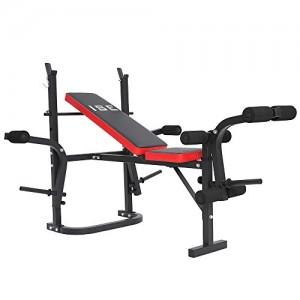 ISE-Banc-de-Musculation-Multifonction-Ajustable-Pliable-Fitness-Pour-Entrainement-Complet-SY543-0