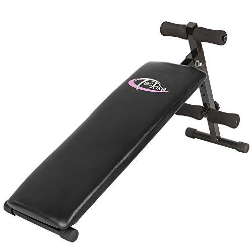 Achat tectake banc de musculation pour muscles abdominaux 120 cm x 33 cm x 63 cm appareil de - Banc abdominaux exercices ...
