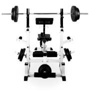 Klarfit-KS02-Station-de-musculation-fitness-mutlifonction-pupitre-pour-curl-butterfly-porte-haltres-cbles-dtirement-avec-banc-pour-entranement-complet-blanc-0-0