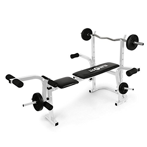 Klarfit-Workout-Hero-Banc-dentranement-musculation-fitness-curlers-pour-jambes-et-bras-butterfly-et-supports-pour-haltres-charge-maximale-160-kg-blanc-0