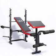 Banc-de-Musculation-Multifonction-Rglable-Pliable-Inclinable-Fitness-Pour-Entrainement-Complet-ISE-SY-5430B-0
