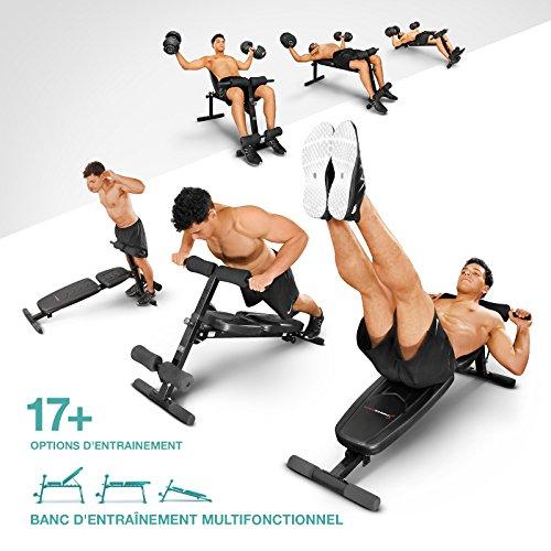 Achat Sportstech Banc Dhaltérophilie Et De Musculation Brt500