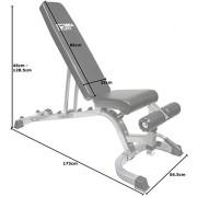 Mirafit-Banc-de-Musculation-Entirement-Rglable-Facile--Dplacer--Noir-ou-Argent-0-0