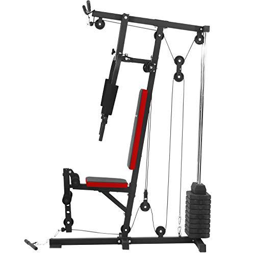 Achat Ise Station De Musculation Banc De Musculation Multifonction