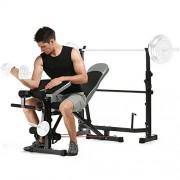 ANCHEER-Banc-de-Musculation-Abdominaux-Ensemble-de-Multifonction-pour-Les-Exercices-en-Intrieur-Complet-InclinableCompactSparProfessionnelNinclut-Pas-Les-Haltres-et-la-Barre-1-0-0