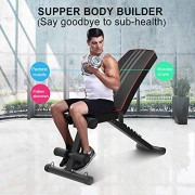 YOLEO-Banc-de-Musculation-Pliable-2-en-1-sit-up-Multifonction-Fitness-Entranement-7-Positions-Musculation-Bras-Abdominaux-Gym-Domicile-Bureau-0-0