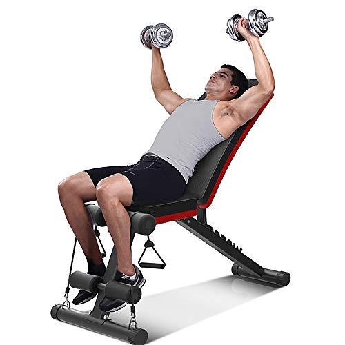 YOLEO-Banc-de-Musculation-Pliable-2-en-1-sit-up-Multifonction-Fitness-Entranement-7-Positions-Musculation-Bras-Abdominaux-Gym-Domicile-Bureau-0