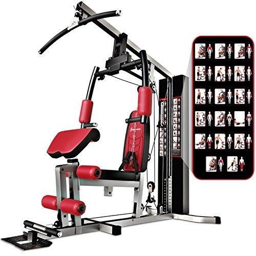 Sportstech-La-Station-de-Musculation-Premium-30en1-HGX100-de-pour-des-Variantes-dentranement-innombrables-Home-Gym-Multifonction-de-materiaux-EVA-pour-la-Maison-0
