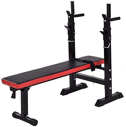 HSBAIS-Banc-de-Musculation-Compact-Rglable-Banc-inclin-Multifonction-Banc-de-Fitness-Muscu-Entrainement-Fitness-comme-Appareil-pour-abdominaux-0