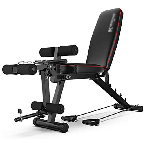 LH-Multifonction-Fitness-Banc-Banc-de-Musculation-avec-Extension-Jambe-Flexion-des-Jambes-Banc-dentranement-rglable-Haltre-Banc-Fitness-quipement-for-Hommes-Femmes-0
