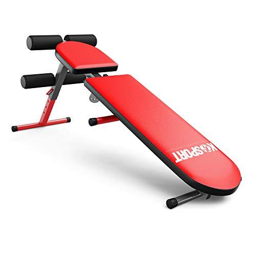 Ksport-Banc-de-musculation-rglable-I-Banc-de-musculation-pliable-pour-entranement-court-et-long-I-Station-de-musculation-efficace-I-Appareil-de-fitness-professionnel-pour-la-maison-0